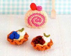 Amigurumi Sweets and cakes crochet