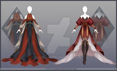 [Close] Design by Lonary on DeviantArt – yemek Character Costumes, Character Outfits, Character Art, Dress Drawing, Drawing Clothes, Fashion Design Drawings, Fashion Sketches, Fantasy Dress, Fantasy Outfits