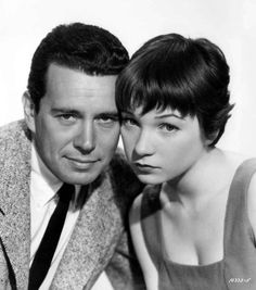 John Forsythe and Shirley MacLaine- Trouble with Harry  http://acertaincinema.com/wp-content/uploads/2012/10/forsythe-maclaine-trouble.jpg