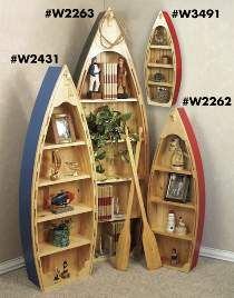 Canoe bookshelf plans Plans for making a boat bookshelf This Pin was discovered by Lani N Ken Angers Licensed contractor Matt Muenster shares amazing bathroom Boat Bookcase, Kids Room Bookshelves, Bookshelf Plans, Nursery Bookshelf, Log Cabin House Plans, Cabin Homes, Canoe Shelf, Boot Regal, Funky Living Rooms
