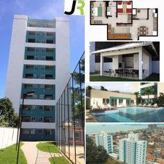 More em Piçarras/SC pertinho do mar, apartamento pronto para morar com dois dormitórios, sacada com churrasqueira, garagem privativa, com área de lazer completa. Preço imperdível! Consulte por WhatsApp (47) 99643 2808.  J.R. Aqui é mais seguro!  http://www.jrimpostoderenda.com.br/consultoria-imobiliaria