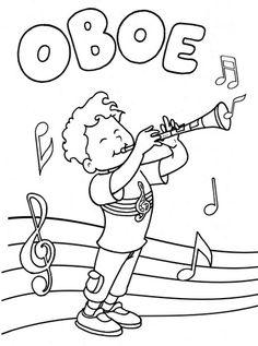 sgblogosfera mara jos argeso oboecolouringinstrumentsmusical