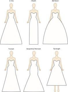 {Fashion Friday} Decoding Wedding Dress Styles and Necklines