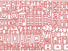 Timothy Goodman's new playful hand-painted typographic murals | Creative Boom