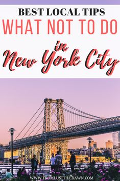 Want my best local tips? Check out this list I always send my friends and family when they visit me in New York City! PIN FOR LATER | #newyorkcity #manhattan #nyc #newyorktravel #newyorktips