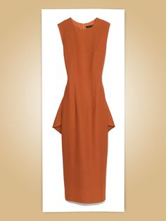 The Row pique jersey dress in Marigold, $2,090For information: neimanmarcus.com