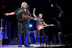 The Who's Roger Daltrey and Pete Townshend at the Erwin Center Monday, April 27, 2015.  Photo by Suzanne Cordeiro/American-Statesman