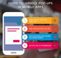 The ultimate guide to handle pop ups in mobile apps http://www.promaticsindia.com/blog/the-ultimate-guide-to-handle-pop-ups-in-mobile-apps/ #mobileappspopups #appdevelopers #mobileUI #appdesign #useofpopupsinapps
