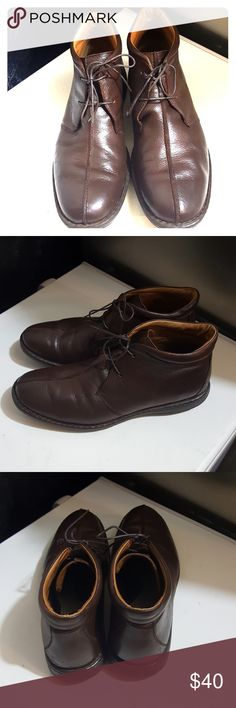 Born men's boots size 13 Born men's brown boots size 13. They are in excellent condition. No scratches. They are very nice and comfortable. I'm selling them at an excellent price. So get them today! Born Shoes Boots