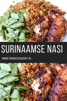 Surinaamse nasi - Apocalypse Now And Then Italian Dinner Recipes, Dinner Recipes Easy Quick, Quick Healthy Meals, Healthy Slow Cooker, Healthy Cooking, Cooking Recipes, Low Carb Vegetarian Recipes, Soul Food, Asian Recipes