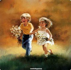 Amar exige cuidado e aferição permanente  ao londo do tempo.  Amor é conquista de cada dia,  é aprendizagem intensiva,  e vontade de construir felicidade e paz   onde estivermos e com quem estivermos.  (Rosa Barros)