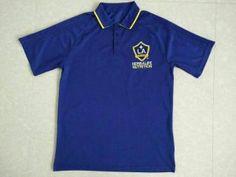 2017-18 Cheap Polo La Galaxy Blue Replica Football Shirt [JFCB820]