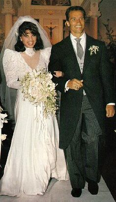 Wedding of Maria Shriver and Arnold Swarzenegger