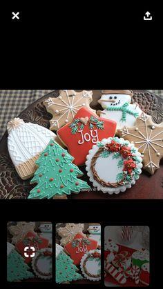 6 X Mini árbol de Navidad Decoraciones De Pastel Cupcake Toppers registro de Yule