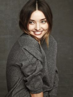 Miranda Kerr ! That Smile :) !