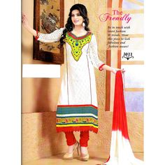 HEAVY EMBROIDERED UNSTITCHED SUIT