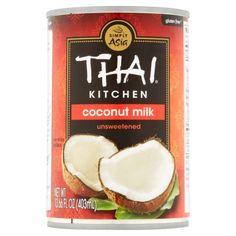 $1.98 Thai® Kitchen Unsweetened Coconut Milk 13.66 fl. oz. Can