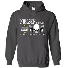 NIELSEN RULE\S Team .Cheap Hoodie 39$ sales off 50% onl - #housewarming gift #coworker gift. WANT IT => https://www.sunfrog.com/Valentines/NIELSEN-RULES-Team-Cheap-Hoodie-39-sales-off-50-only-19-within-7-days.html?68278