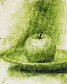 Beautiful Green Oil Painting  http://www.aberkeleydaily.com/Images/GreenApple.jpg