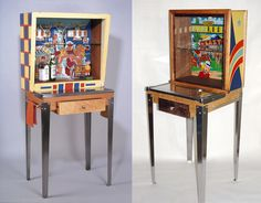 If It's Hip, It's Here: Silverball: Re-Purposed Vintage Pinball Machines As Furniture And Home Decor