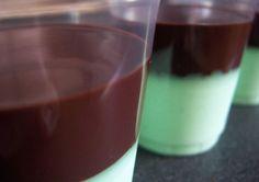 Crème menthe coulis chocolat au thermomix