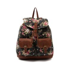 Shop for Floral Backpack in Black at Journeys Shoes.
