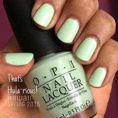 OPI That's Hula-rious! (Spring 2015 Hawaii collection)