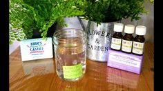 "I started making my liquid soap from bar soap, however I did not like the slimy-gelly-like consistency it had at the end. So I cried out to the heavens ""THER. Liquid Hand Soap, Bar Soap, Face And Body, Home Remedies, Helpful Hints, Health And Wellness, Mason Jars, Diy, Cleaning"