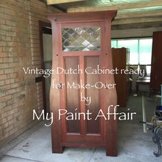 Commission Piece ready for a fresh new look!! See further photos and a video of this piece's transformation on my Facebook Page (My Paint Affair)