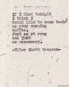Typewriter Series #300 by Tyler Knott Gregson ❤ #love #quotes