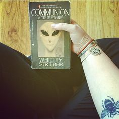 #justdoitjanuary #bookreview Day five #nosugar (nonfiction) #booktag @bookidote @ellabooklover #onewordtitle I did seriously pick COMMUNION by #whitleystrieber as my nonfiction book. Thought I'd shake it up a bit.  I'm from the X-Files generation and I'm always down for hearing every side to every story. When Strieber wrote his NF book about his account of alien abduction I gotta say I was skeptical. Not only did he write a convincing story but it was a damn terrifying one too. Could it have…