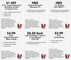 Kfc Coupons Ends of Coupon Promo Codes MAY 2020 ! Worlds Louisville, the The 2018 Fried Wingstreet sales after It Hut, owns is fast y. Kfc Printable Coupons, Kfc Coupons, Print Coupons, Free Printables, Perfect Timing, Kids Meals, Ads, November 2013, June