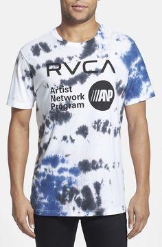 'Artist Network Program' Tie Dye T-Shirt Boy Fashion, Fashion Outfits, Aesthetic T Shirts, Tie Dye Designs, Cool Ties, Tie Dye T Shirts, Mens Clothing Styles, Mens Tees, T Shirts For Women
