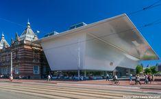 ワールドレポート | アムステルダム市立美術館のバスタブのような新館