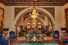 looking for palace wedding venues in Rajasthan? These magnificent palace wedding venues are sure to grab your interest. Soho House Istanbul, Royal Indian, Palace Interior, Royal Residence, Shopping Places, Luxury Camping, Palace Hotel, City Limits, Grand Staircase