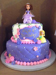 Sofia the First Birthday Cake Birthday Cakes Pinterest