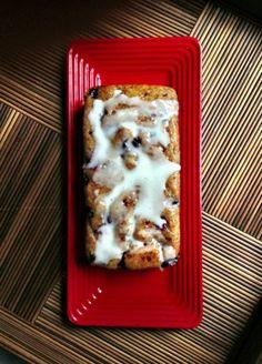 Suburban Vegan veganizes Sweet Pea's Kitchen's Lemon-Blueberry Yogurt Loaf