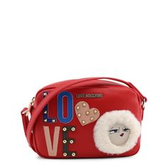Love Moschino Crossbody Bag. Fashion HandbagsFashion BagsFashion ShoesRed  Crossbody BagVersace ... 01b5fb33528dc