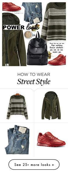 """Fall Fashion:Street Style"" by pokadoll on Polyvore featuring KING, Reebok, polyvoreeditorial and polyvoreset"