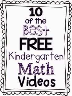 Herding Kats in Kindergarten: 10 of the Best FREE Kindergarten Math Videos