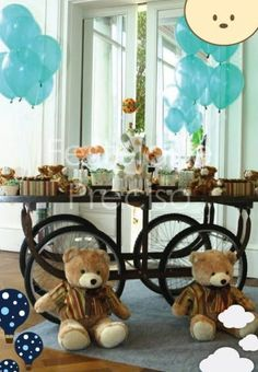 Teddy Bear Party - Kara's Party Ideas - The Place for All Things Party