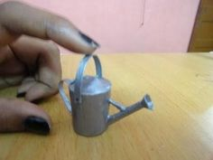 How to make watering can miniature