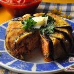 Timballo+di+pasta+alla+parmigiana