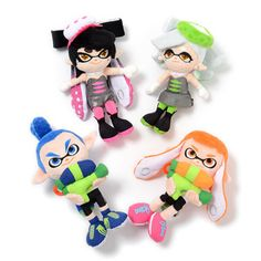 Splatoon All-Star Collection Plushies