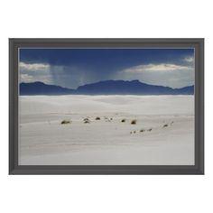 White Sands National Monument Poster + Custom Frame