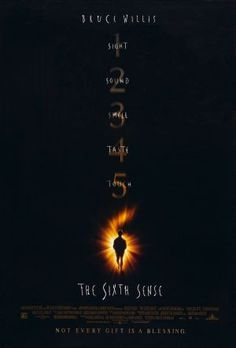 The Sixth Sense. Directed by M. With Bruce Willis, Haley Joel Osment, Toni Collette, Olivia Williams. A boy who communicates with spirits seeks the help of a disheartened child psychologist Bruce Willis, Plot Twist, Scary Movies, Great Movies, Horror Movies, Amazing Movies, Iconic Movies, The Sixth Sense Movie, Best Halloween Movies