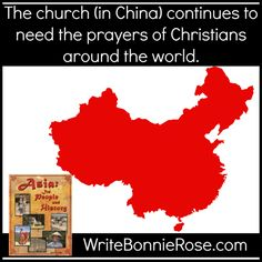 The church (in China) continues to need the prayers of Christians around the world.  #homeschool #missions #pray