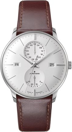 Junghans Watch Meister Agenda #bezel-fixed #bracelet-strap-leather #brand-junghans #case-depth-12-2mm #case-material-steel #case-width-40-4mm #date-yes #day-yes #delivery-timescale-7-10-days #dial-colour-silver #gender-mens #luxury #movement-automatic #official-stockist-for-junghans-watches #packaging-junghans-watch-packaging #power-reserve-yes #style-dress #subcat-meister #supplier-model-no-027-4364-00 #warranty-junghans-official-2-year-guarantee #water-resistant-30m