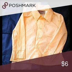 Kids dress shirt only worn once.  Size 2t Kids button down dress shirt city supply Shirts & Tops Button Down Shirts