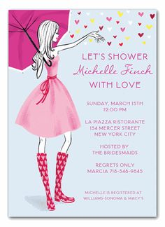 Stylish imprintables invitations photo